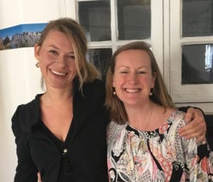 Christiane Meulengracht og Sara Skaarup