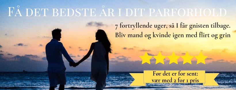 Boost dit parforhold med gnist og glæde med Christiane Meulengracht