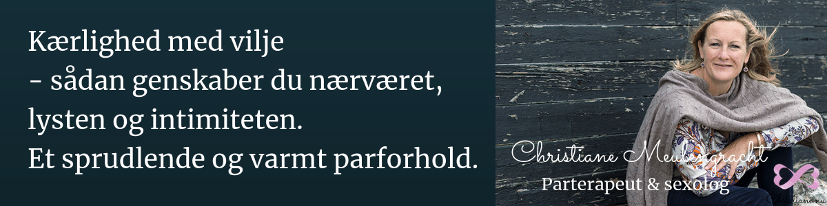 Parterapeut og sexolog i København og Nordsjælland. Christiane Meulengracht